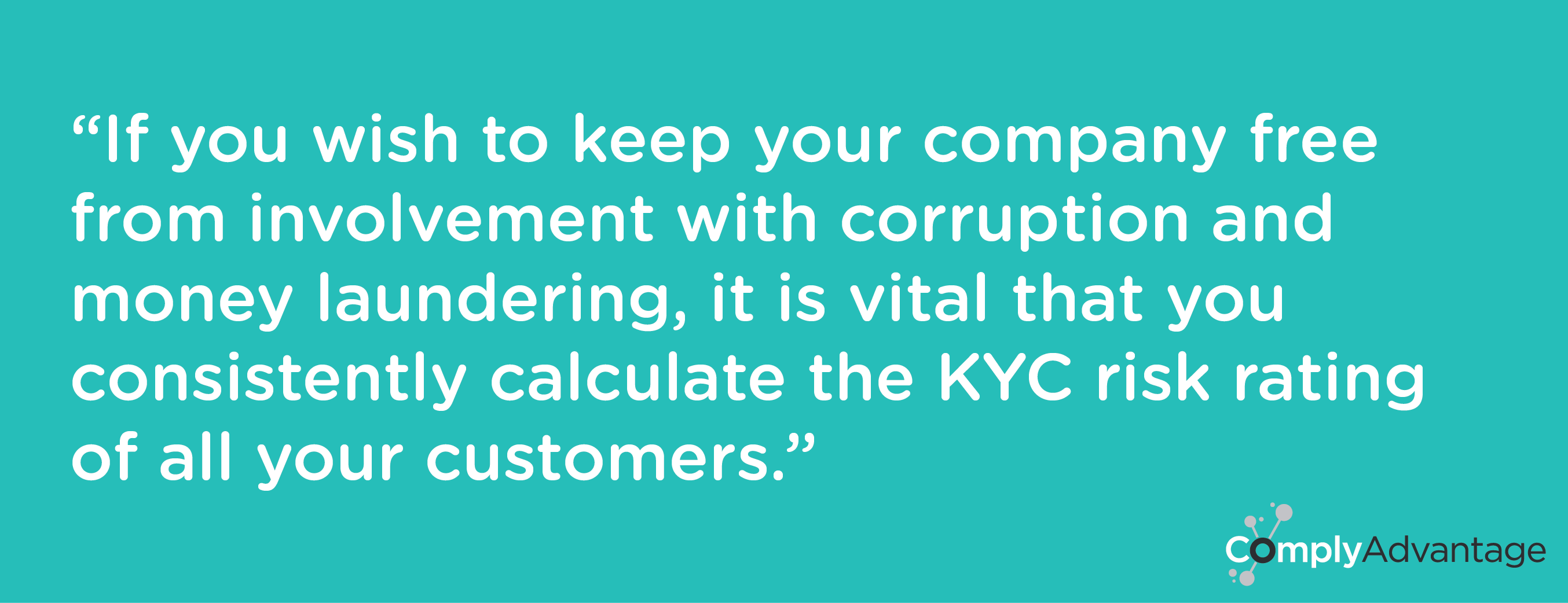 KYC Risk Rating ComplyAdvantage
