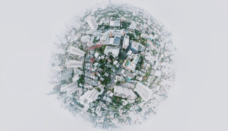 A globe made up of cities: sanction screening regulations