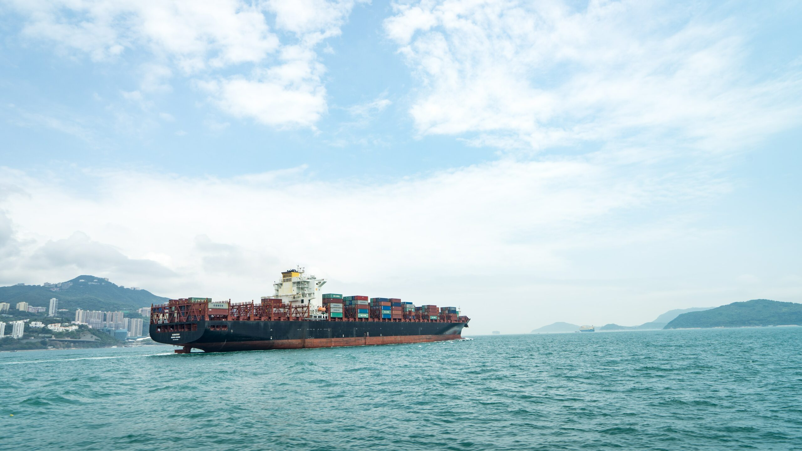 Containers on ship: Third party money laundering