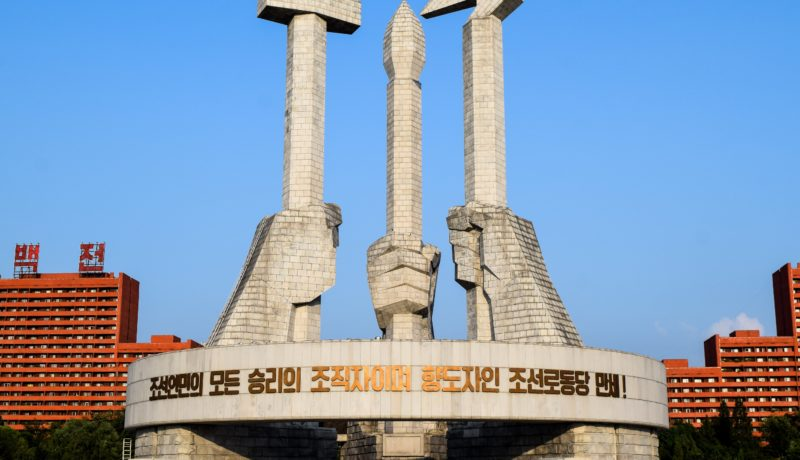 Monument in DPRK: North Korea Cryptocurrency Sanctions