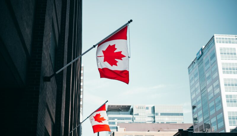 Canadian Flags: Canada Sanctions