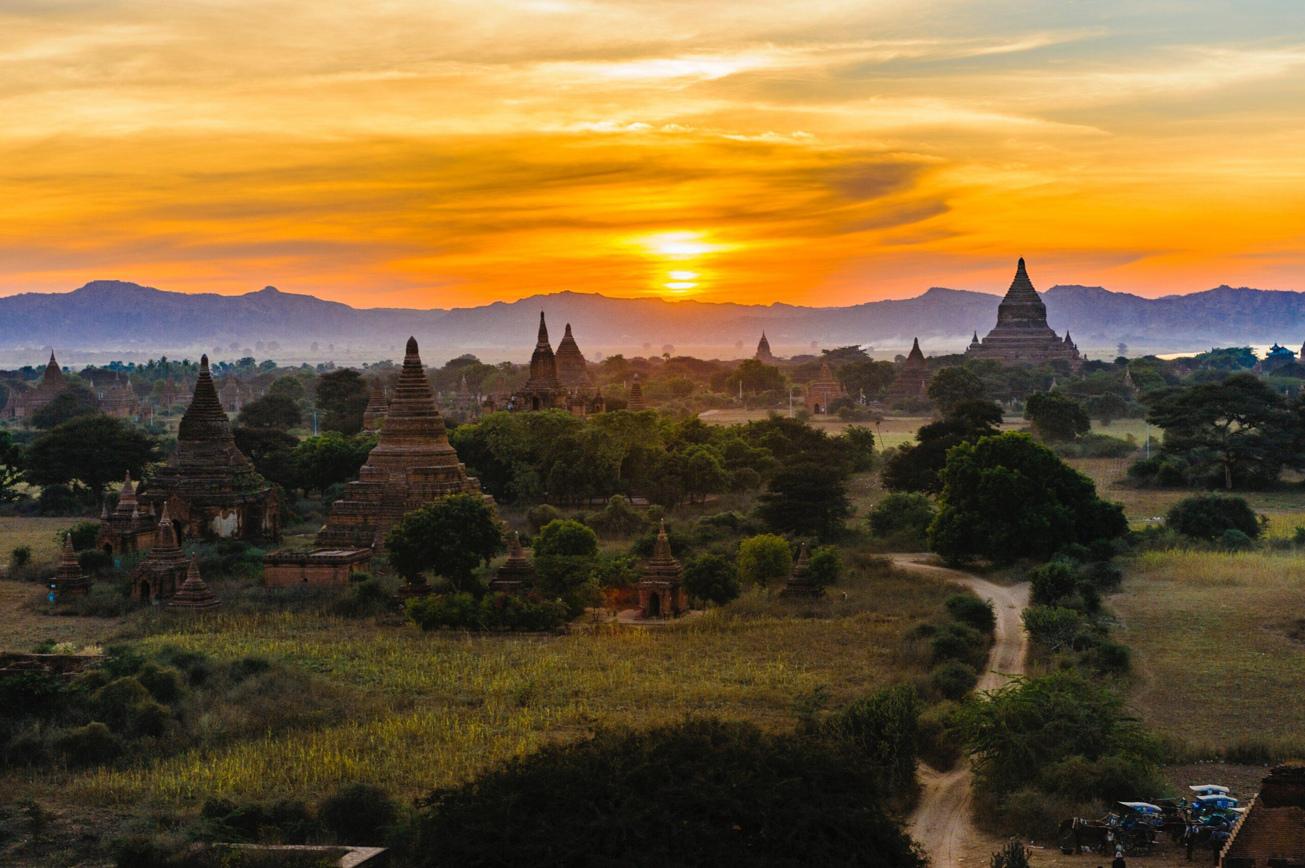 Landscape of Myanmar: Sanctions